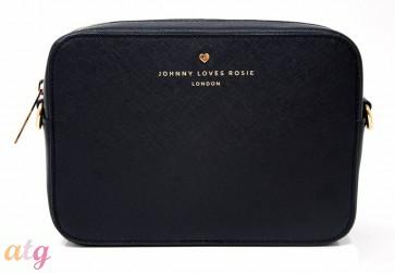 Johnny Loves Rosie Black Cross Body Bag