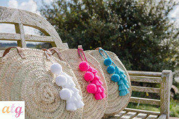 Pom Pom and Tassel Bag Swag
