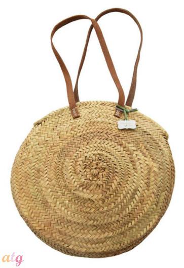 Rustic Round Basket Medium