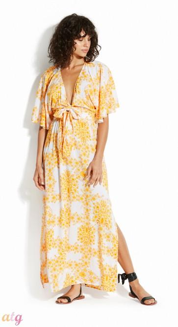 Seafolly Sunflower Maxi Dress