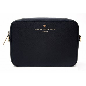 Johnny Loves Rosie Black Cross Body Bag
