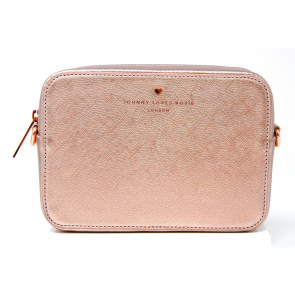 Johnny Loves Rosie Rose Gold Cross Body Bag