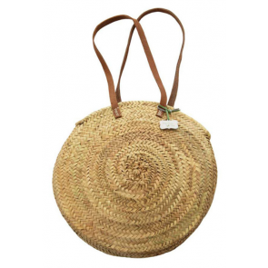 Rustic Round Basket Medium