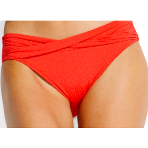 Seafolly Twist Band Hipster Chilli Red