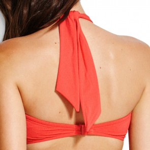 Seafolly Chilli Red Bandeau