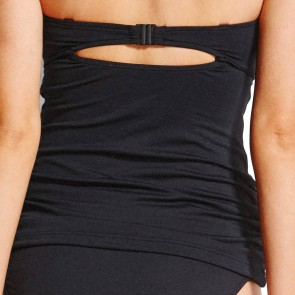 Seafolly Easy Fit C/D Bandeau Singlet Black