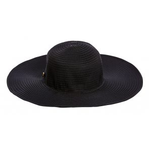 Seafolly Lizzy Beach Hat Black