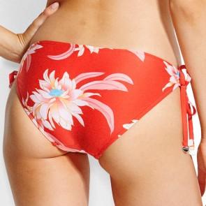 Desert Flower Loop Tie Side Hipster Chilli Red