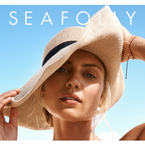 Seafolly Shady Lady Collapisble Fedora