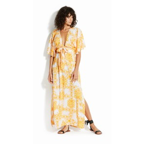 Seafolly Sunflower Maxi Dress