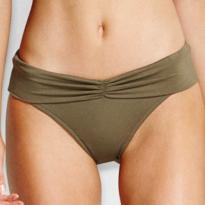 Seafolly V Band Retro Pant Dark Olive