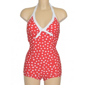 Spot On Chilli Red Boyleg Maillot