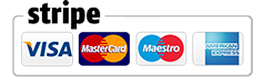 Secured by Stripe. Payment Methods: Paypal, Visa, Maestro, Mastercard